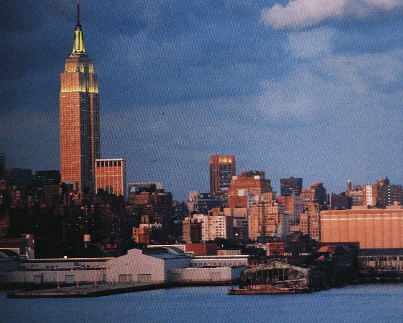New York landmarks: skyline. Photograph by New York State Economic Development