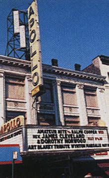 Apollo Theatre. Photograph by NYCVB