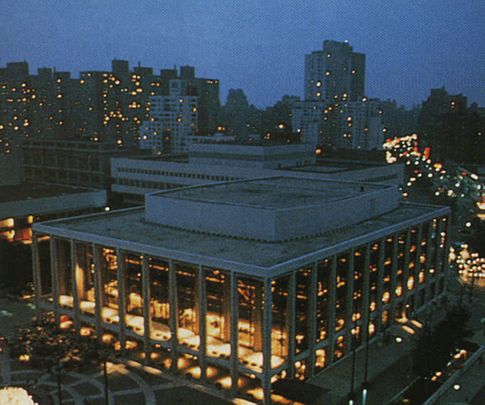 Lincoln Centre. Photograph by New York State Commerce Department
