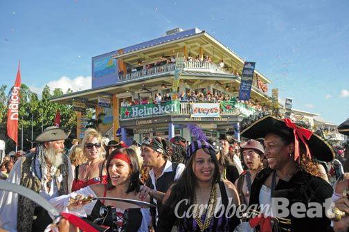 Pirate Week, Cayman Islands. Photograph courtesy Alan Markoff (Cayman Free Press)