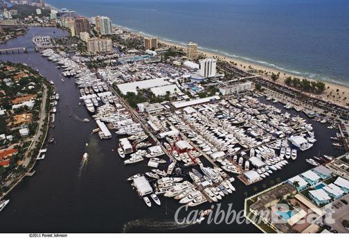 Get on board. Photograph courtesy Fort Lauderdale International Boat Show © 2012 Show Management
