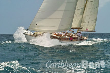 Photograph courtesy St Martin Classic Yacht Regatta