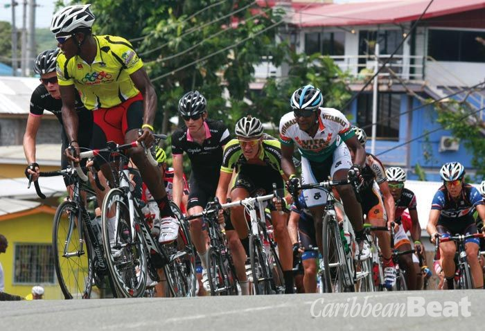 Photograph courtesy the Tobago International Cycling Classic