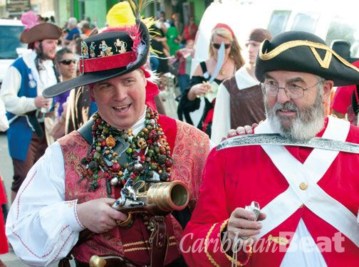 Pirates Week Festival. Photograph courtesy Cayman Free Press