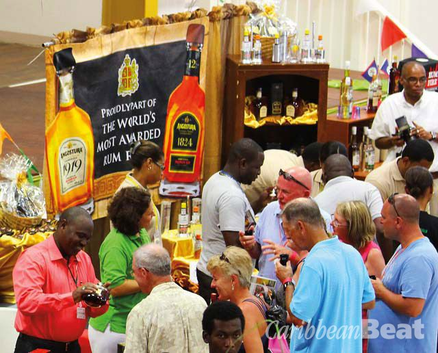 Caribbean Rum and Beer Festival. Photograph courtesy AZM Services Incde Weijer
