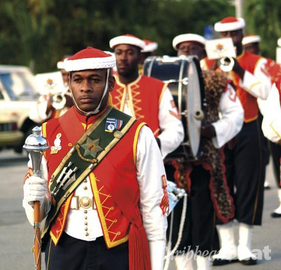 Barbados marks its British beginnings. Photograph courtesy Barbados Tourism Authority