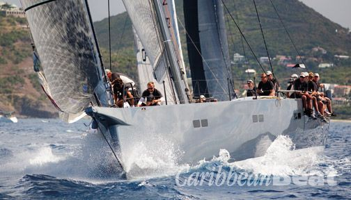 St Maarten Heineken Regatta. Photograph by Tim Wright