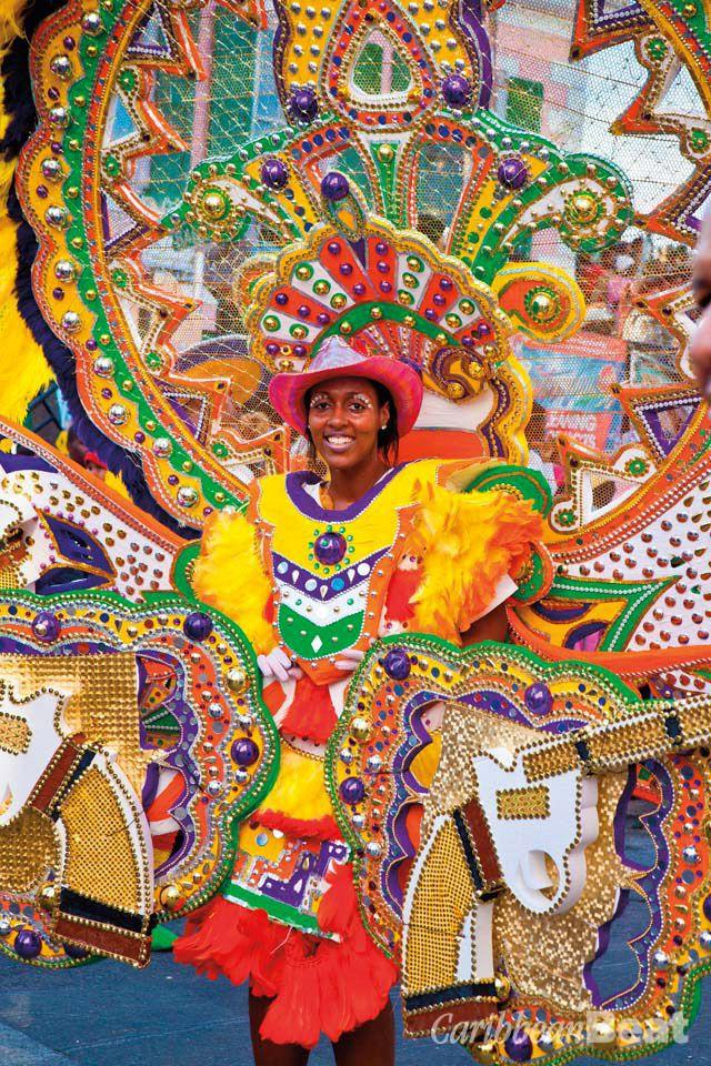 The brilliant colours of Bahamas Junkanoo. Photograph by Jo Crebbin/shutterstock.com
