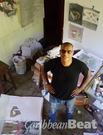 Christopher Cozier. Photograph courtesy Akiko Ota