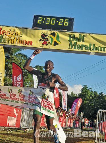 Reggae while you run. Photograph courtesy Action Sports Int. & Reggae Marathon