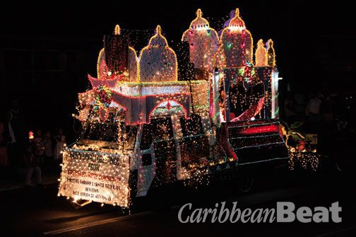 Parade of lights. Photograph by Michael Lam