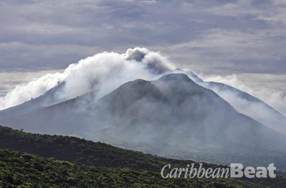 Montserrat – back without a bang. Photograph courtesy Montserrat Volcano Observatory