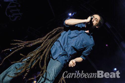 Damian Marley. Photograph courtesy St Kitts Music Festival