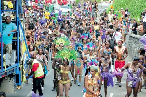 Carnival in July. Photo courtesy www.luciancarnival.com