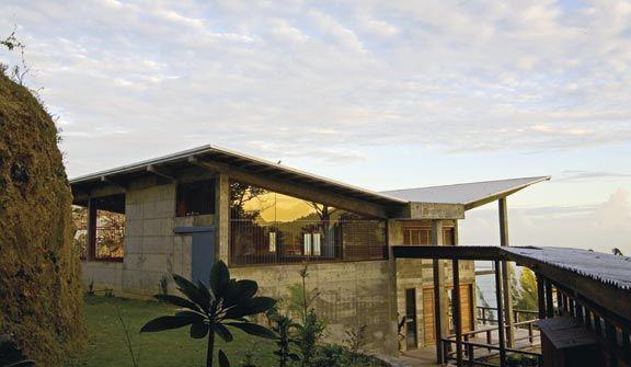 Artist's house and studio. Photograph courtesy Jenifer Smith Architects