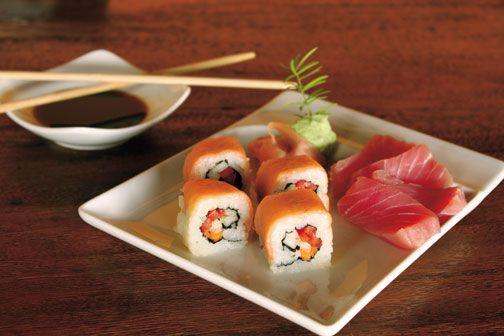 Sushi at Sugar Ridge. Photograph courtesy Sugar Ridge