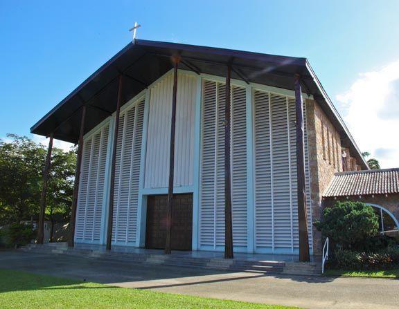 Assumption Catholic church in Maraval, Port of Spain. Photograph by Ariann Thompson