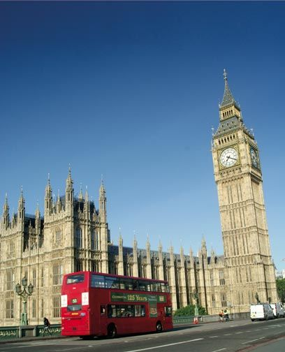 Big Ben and the parliament buildings