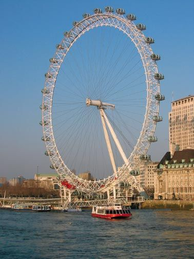 The London Eye is a good way to get a bird's eye view of London
