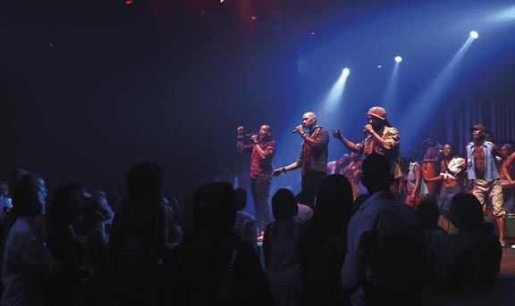 3Canal's performance is streamed live on Carnival TV. Photograph courtesy Carnival TV