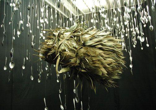 Jepi De (2005), installation, 250 x 400 x 400 cm. Photograph courtesy Marcel Pinas/Readytex Art Gallery