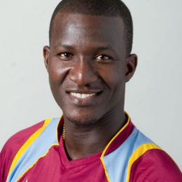 Darren Sammy. Photograph courtesy the West Indies Cricket Board
