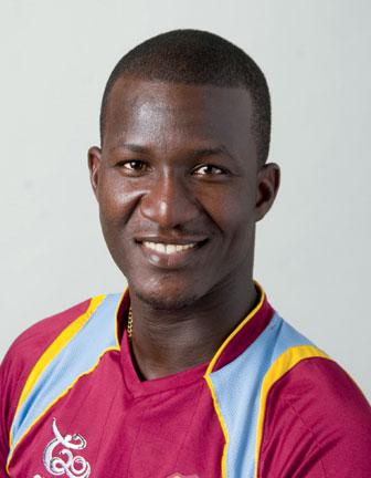 Darren Sammy. Photograph courtesy the West Indies Cricket Board