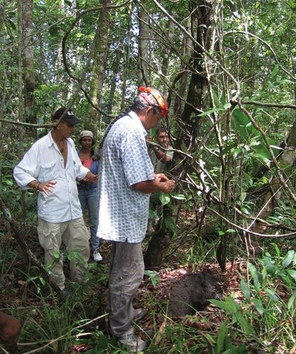 Simon is renowned for his sense of where artifacts may be found at an archaeological site. Photograph courtesy George Simon