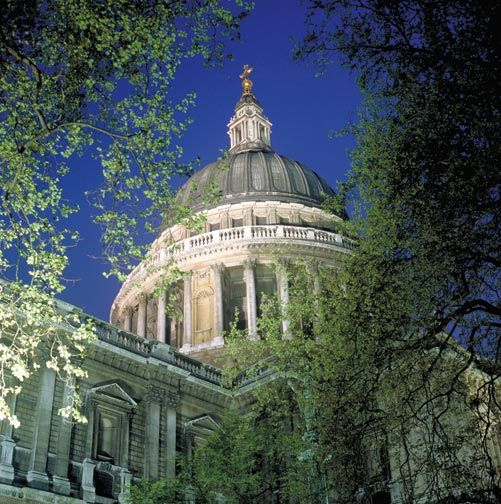 The dome of St Paul's Cathedral is an iconic part of the London skyline. Photograph by © London and Partners