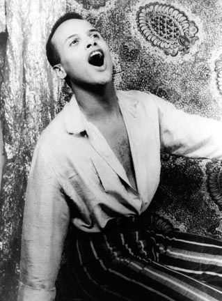 Harry Belafonte in 1954. Photograph by Library of Congress, Prints & Photographs Division, Carl Van Vechten Collection