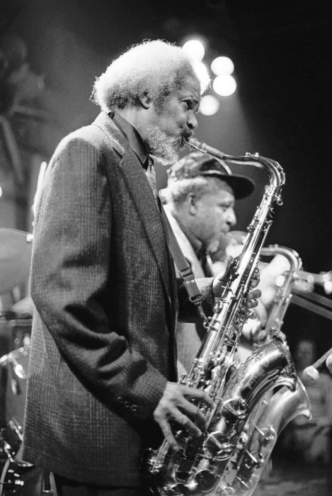 Roland Alphonso and Tommy McCook of the Skatalites. Photograph by David Corio