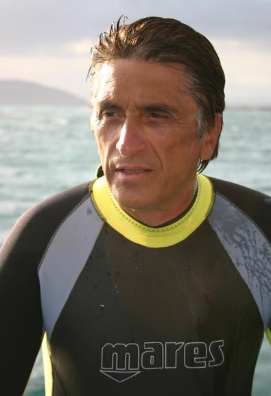 Film-maker Rick Haupt. Photograph by Sylvia Kreuger/Oceans Discovery