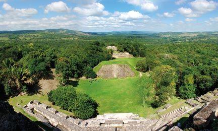 The view from the top of El Castillo is definitely worth the climb. Photograph by Ramunas Bruzas / shutterstock.com
