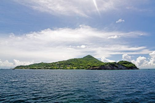 At under six hundred acres, Petite Martinique is one of the smallest inhabited islands in the Caribbean. Photograph by Orlando Romain