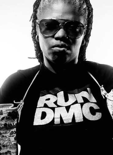 Ebony G. Patterson, photographed by Marlon James