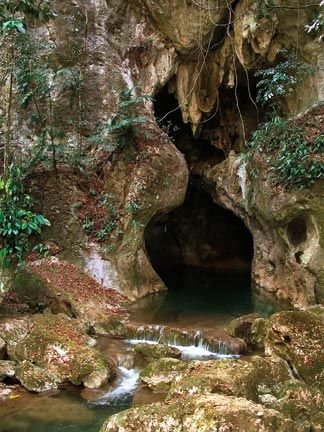 Actun Tunichil Muknal cave entrance. Photograph by Blue Ice / shutterstock.com