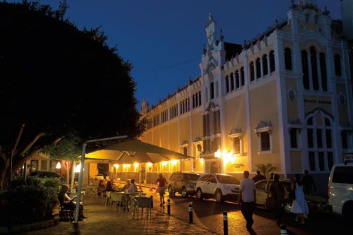 Surrounded by historic buildings, Plaza Independencia is the ideal spot to pass an evening people-watching