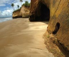 The cliffs at Icacos are spectacular. Photograph by Chris Anderson