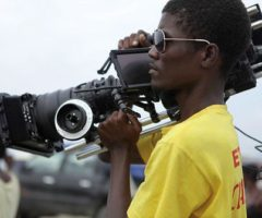 The Ciné Institute provides free training to budding Haitian filmmakers. Photograph courtesy the Jacmel Ciné Institute
