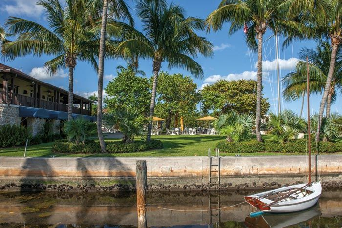 Coconut Grove lives up to its name. Photograph provided by Greater Miami Convention & Visitors Bureau www.gmcvb.com