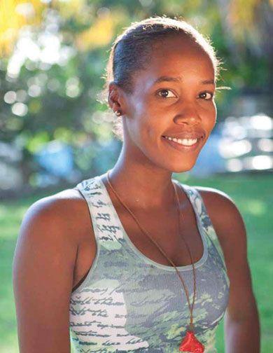 Keziah Jean. Photograph courtesy the Jacmel Ciné Institute