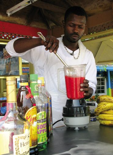 One daiquiri, coming up. Photograph courtesy the Bahamas Ministry of Tourism