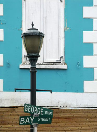 Historic downtown Nassau. Photograph courtesy the Bahamas Ministry of Tourism