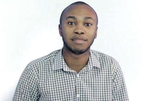 Jaevion Nelson, We Are Jamaicans participant. Video stills courtesy J-FLAG