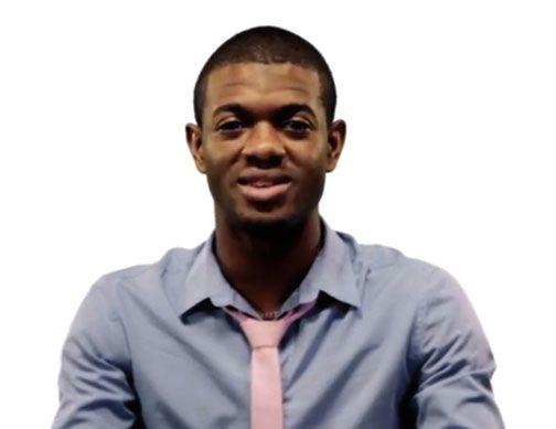 Jomain McKenzie, We Are Jamaicans participant. Video stills courtesy J-FLAG