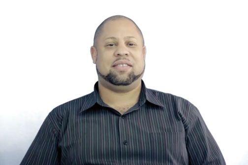 Dane Lewis, We Are Jamaicans participant. Video stills courtesy J-FLAG