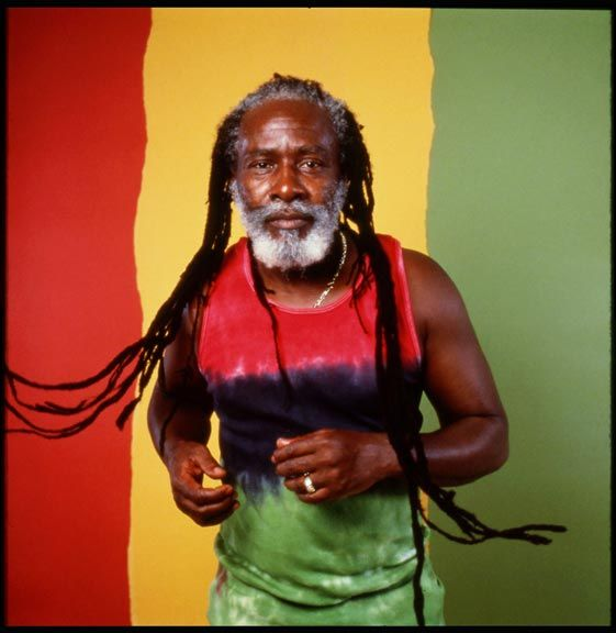 The inimitable Burning Spear. Photograph by David Corio