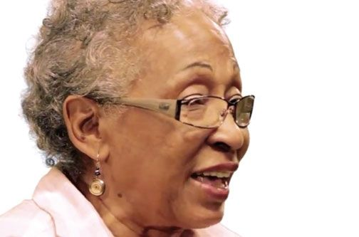 Yvonne McCalla Sobers, We Are Jamaicans participant. Video stills courtesy J-FLAG