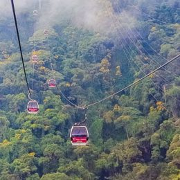 Caracas Aerial Tramway. Photograph by Jose Carlos Gonzales