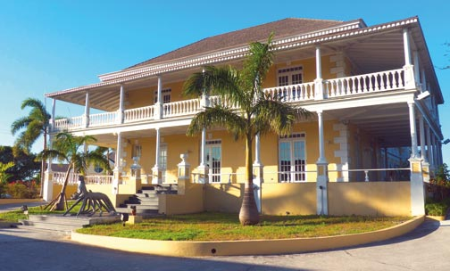 Historic Villa Doyle, home of the National Art Gallery of the Bahamas. Photograph courtesy the Bahamas Ministry of Tourism